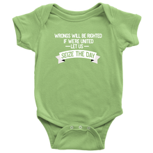Load image into Gallery viewer, Seize the Day Infant Bodysuit