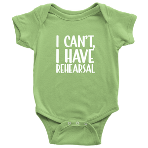 Rehearsal Infant Bodysuit