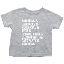 Load image into Gallery viewer, Theatre Life Toddler T-Shirt