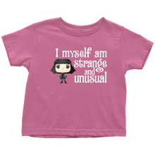 Load image into Gallery viewer, Lydia Strange & Unusual Toddler T-Shirt