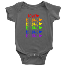 Load image into Gallery viewer, Love is Love Infant Bodysuit