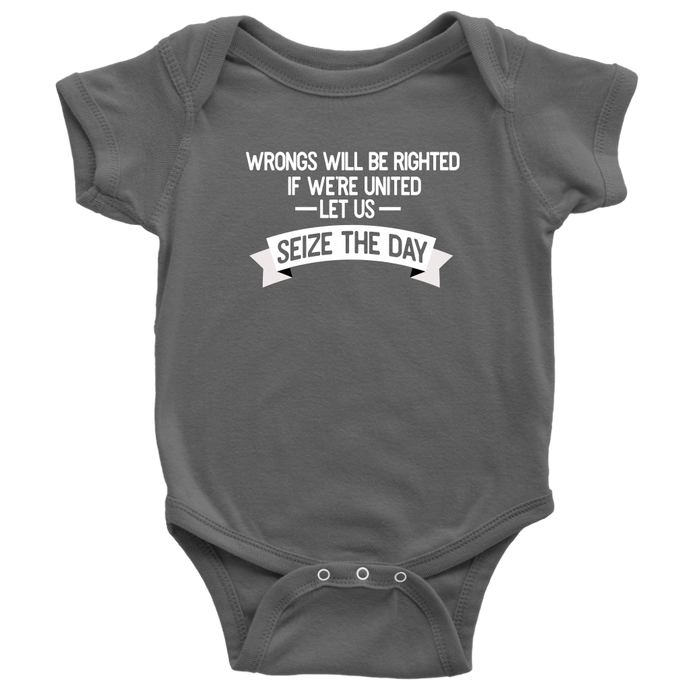 Seize the Day Infant Bodysuit