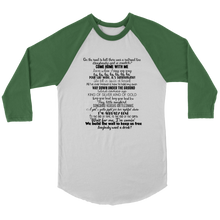 Load image into Gallery viewer, Hadestown Act One Raglan T-Shirt
