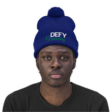 Load image into Gallery viewer, Defy Gravity Pom Pom Beanie