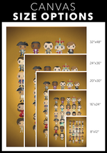 Load image into Gallery viewer, Hamilton Pop Chart (8X12 Canvas)