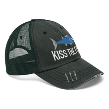 Load image into Gallery viewer, Kiss the Fish Unisex Trucker Hat