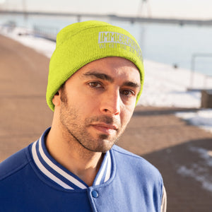 We Get the Job Done Knit Beanie