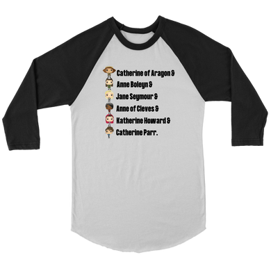 Six Queens Raglan T-Shirt