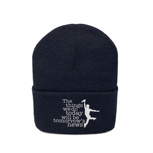 Newsies Knit Beanie