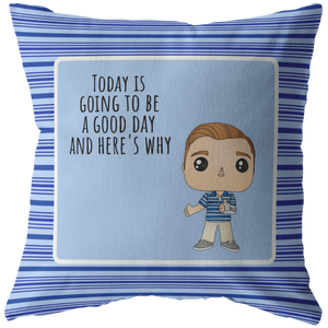 Dear Evan Hansen Throw Pillow