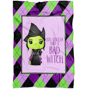 Bad Witch Blanket