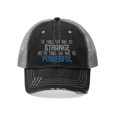 Strange/Powerful Unisex Trucker Hat