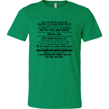 Load image into Gallery viewer, Beetlejuice Lyrics T-Shirt