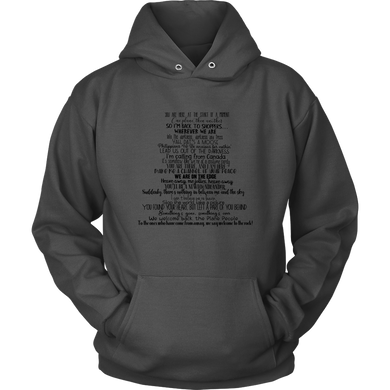 Come From Away Lyrics Hoodie