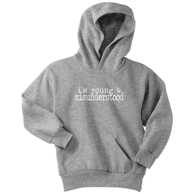Young & Misunderstood Youth Hoodie