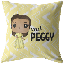 Load image into Gallery viewer, Peggy Schuyler Throw Pillow
