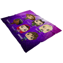 Load image into Gallery viewer, Six Queens Fleece Blanket
