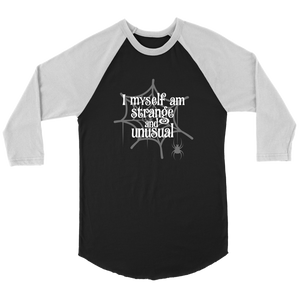 Strange & Unusual Raglan T-Shirt