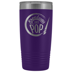 Broadway Goes Pop 20oz Tumbler
