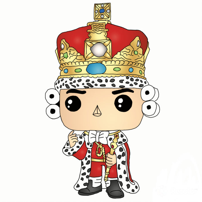 King George III Sticker