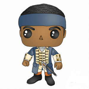 Hercules Mulligan Sticker
