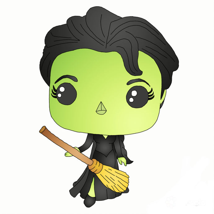 Elphaba Sticker