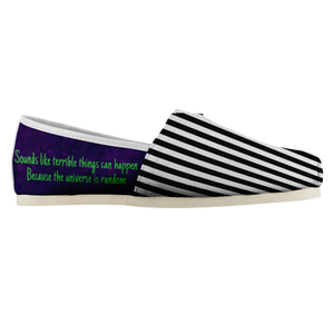 Beetlejuice Slip On Shoes