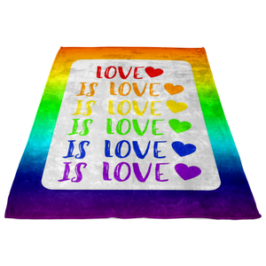 Love is Love Blanket