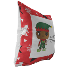 Load image into Gallery viewer, Burr Elf Throw Pillow
