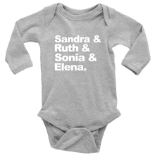 Load image into Gallery viewer, Supreme Court Long Sleeved Infant Bodysuit