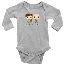 Load image into Gallery viewer, Persephone & Hades Long Sleeved Infant Bodysuit