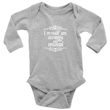 Load image into Gallery viewer, Strange & Unusual Long Sleeved Infant Bodysuit