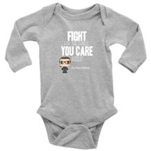 Load image into Gallery viewer, RBG Fight Long Sleeved Infant Bodysuit