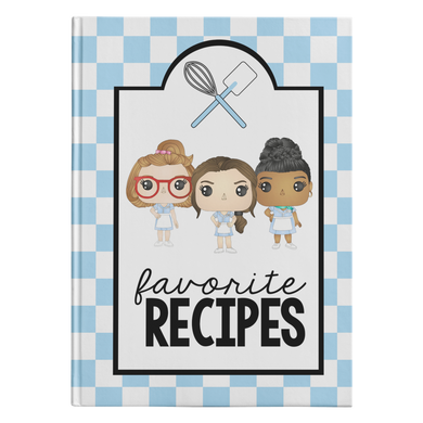 Waitress Recipe Hardcover Journal