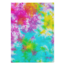 Load image into Gallery viewer, Janis Tie Dye Hardcover Journal