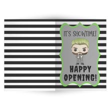 Load image into Gallery viewer, Beetlejuice Happy Opening Card