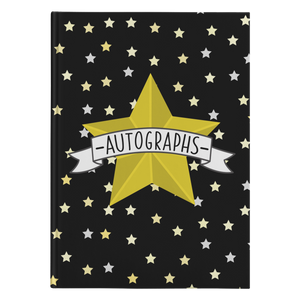 Autograph Hardcover Journal