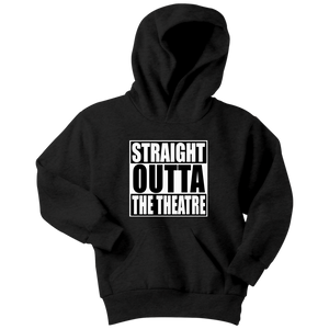 Straight Outta Theatre Youth Hoodie