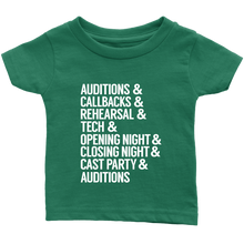 Load image into Gallery viewer, Theatre Life Infant T-Shirt