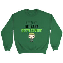 Load image into Gallery viewer, Beetlejuice Crewneck Sweatshirt