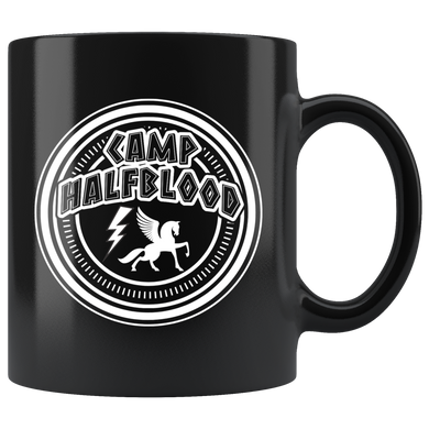 Camp Halfblood Black 11oz Mug