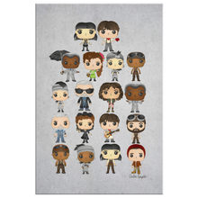 Load image into Gallery viewer, Hadestown Pop Chart Canvas (20X30)