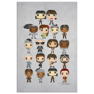 Hadestown Pop Chart Canvas (20X30)
