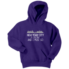 Load image into Gallery viewer, NYC is Calling Youth Hoodie