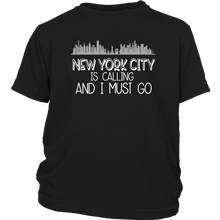 Load image into Gallery viewer, NYC is Calling Youth T-Shirt