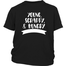 Load image into Gallery viewer, Young, Scrappy, Hungry Youth T-Shirt