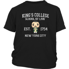 Load image into Gallery viewer, King's College Youth T-Shirt