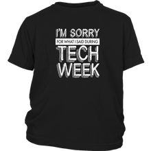 Load image into Gallery viewer, Tech Week Youth T-Shirt