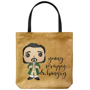 Young, Scrappy, & Hungry Tote Bag