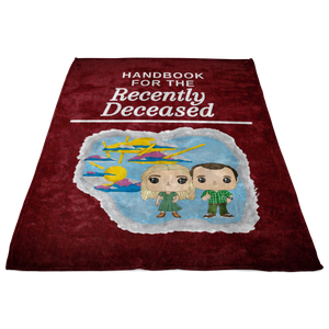 Handbook for the Recently Deceased Blanket